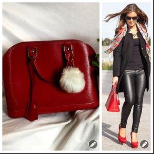 85471190cbc Louis Vuitton Bags - Authentic Louis Vuitton Epi Leather Alma PM RED